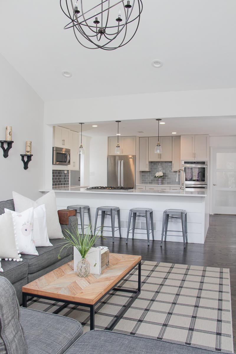 Small Modern Apartment Living Room Ideas: Modern Farmhouse Living Room Renovation
