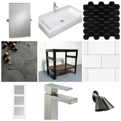 Our Bathroom Renovation Design Board