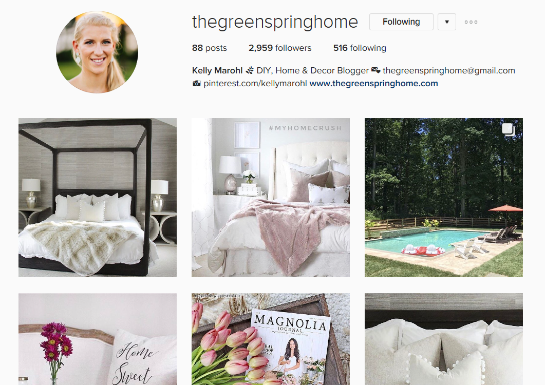 Follow The Greenspring Home on Instagram  @thegreenspringhome