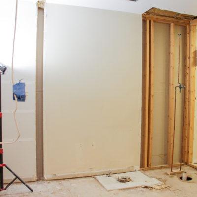 Progress on my Dream Laundry Room