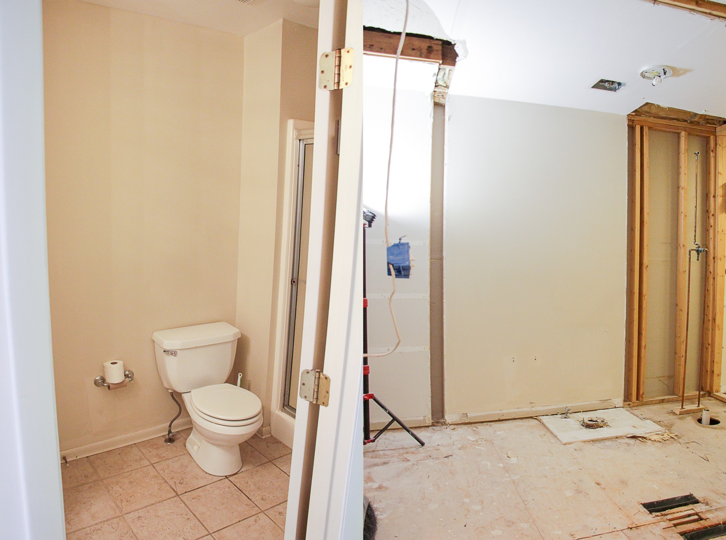 Before & After Demo Day at The Greenspring Home