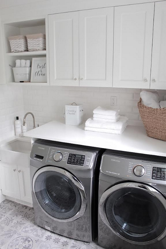 The Laundress products | Laundry room décor | Laundry room styling | White laundry room