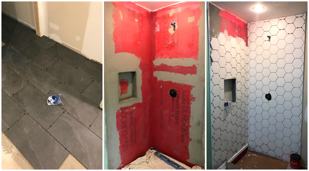 Bathroom renovation pictures with before and after photos