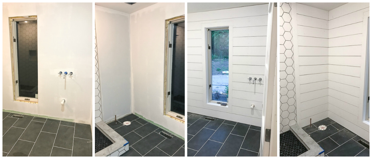 Bathroom renovation before and after pictures