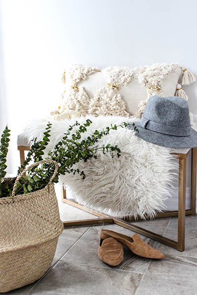 Boho Home Decor. Entryway Decor Ideas.