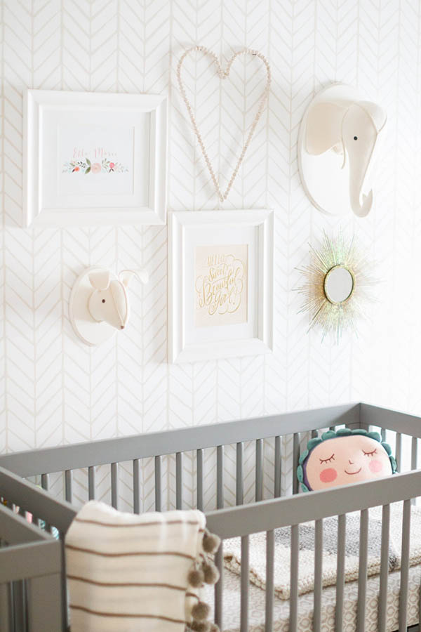 Free Printable Nursery Wall Decor The Greenspring Home
