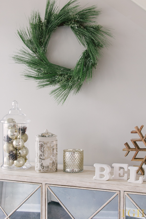 Christmas Sideboard Decorations