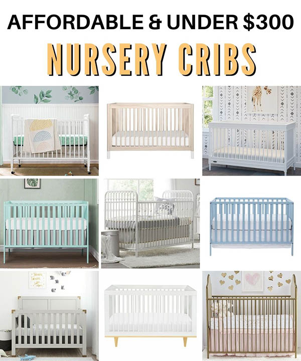 Affordable cribs for nursery