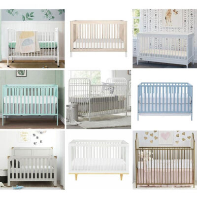 Affordable cribs for baby nursery