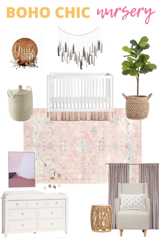Boho Chic Nursery Design Plans