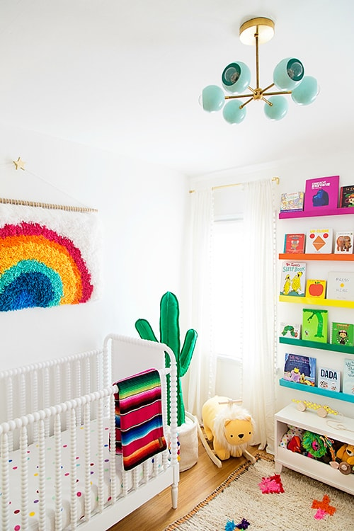 Rainbow wall decor