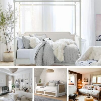 Nursery daybed examples