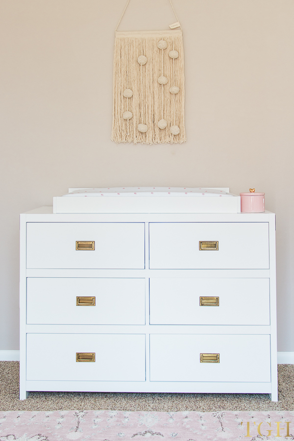 Campaign Style Changing Table