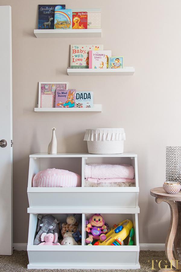 Nursery Toy Storage Ideas for Small Nursery Toy Storage