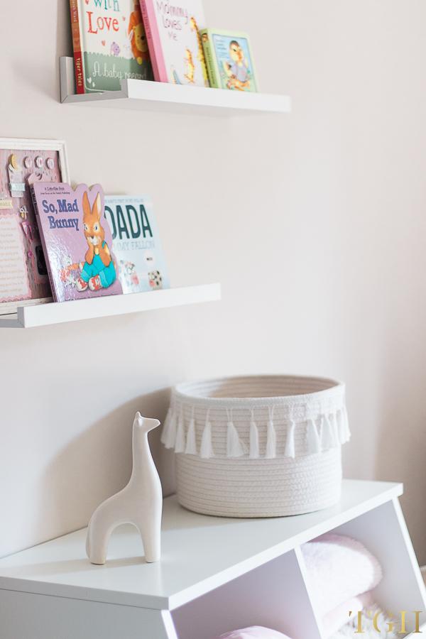 Nursery Book Ledge IKEA