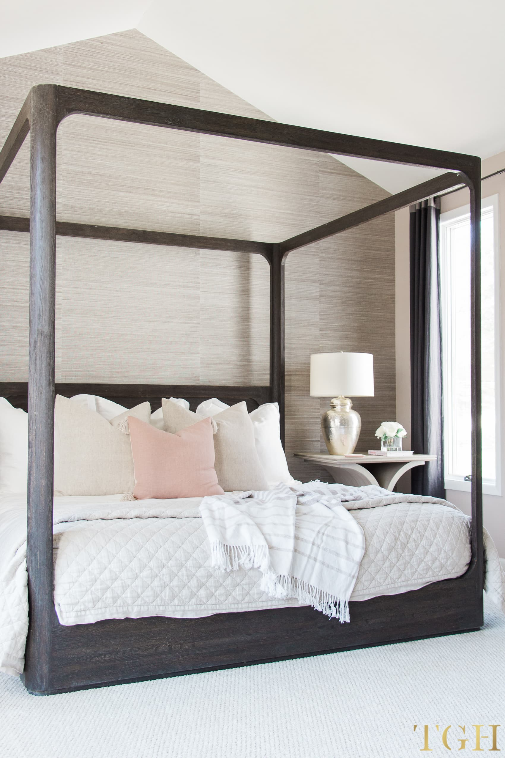 Decorating Our Master Bedroom With Vaulted Ceilings The Greenspring Home
