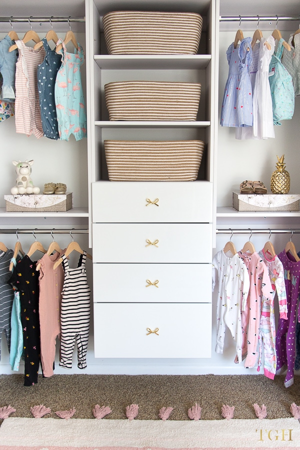 How To Build A Beautiful Baby Clothes Organizer The Greenspring Home
