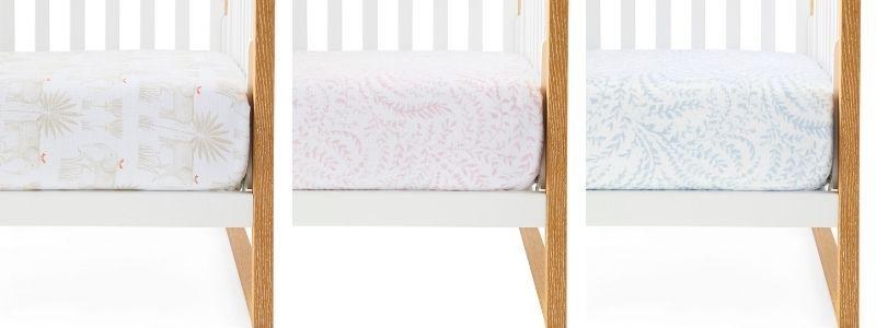 Muslin crib sheets