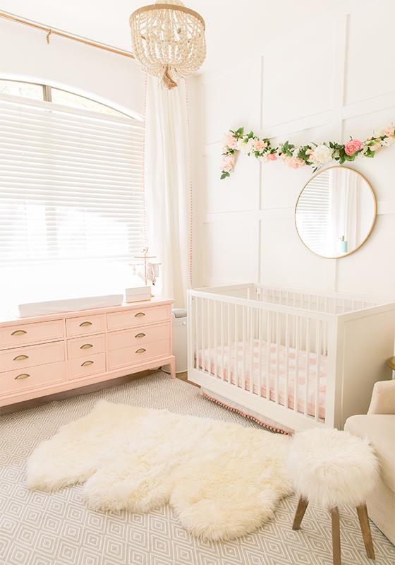 Baby Nursery Decorating Ideas for a Girl