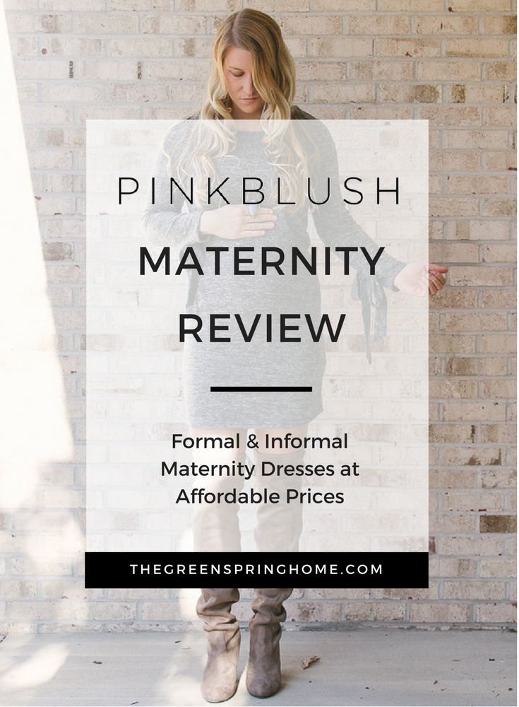 Pink Blush Maternity Review