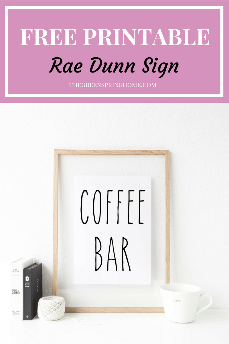4 Reasons To Love Rae Dunn Mugs The Greenspring Home
