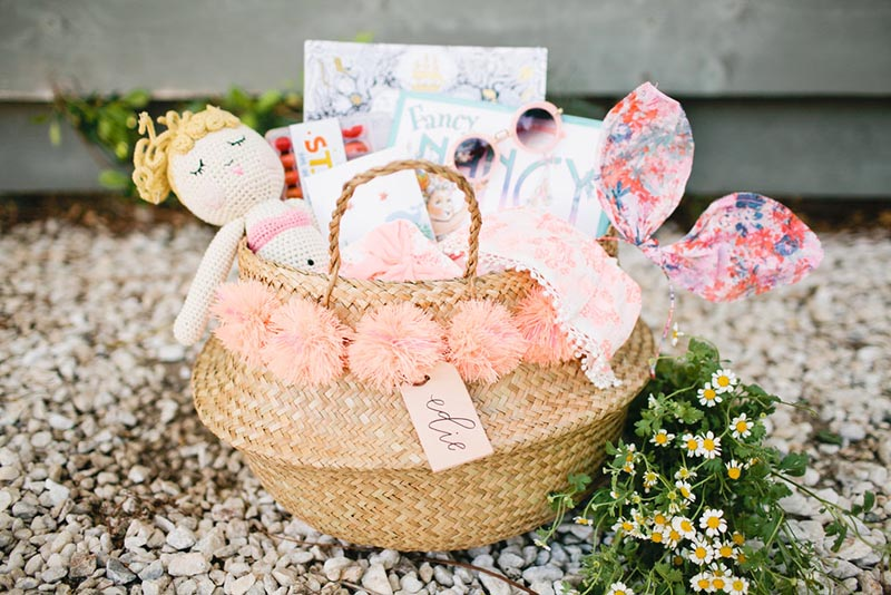 Under the sea theme Easter basket
