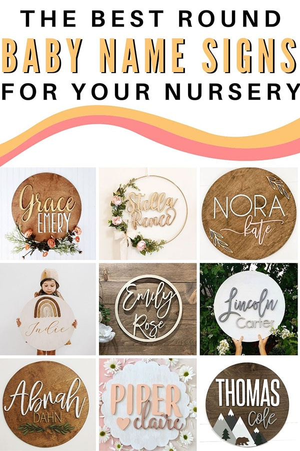 Best Baby Name Signs for a Nursery