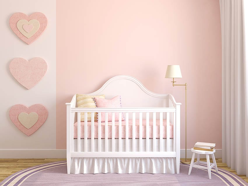 colorful baby nursery
