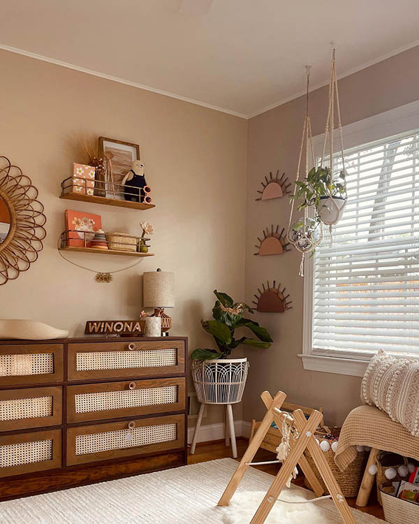 boho nursery decor