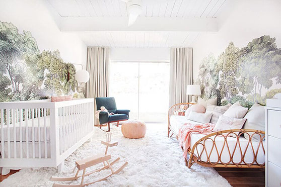 Daybed in nursery