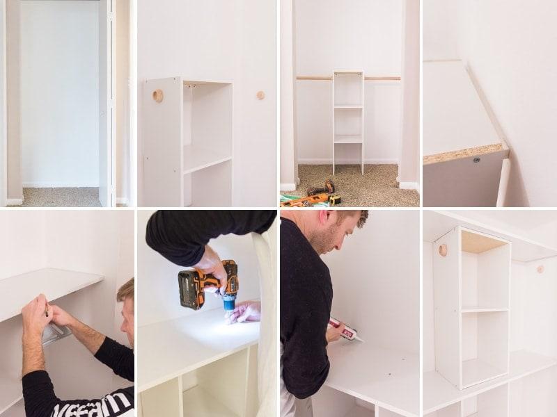 DIY Nursery Closet Tutorial