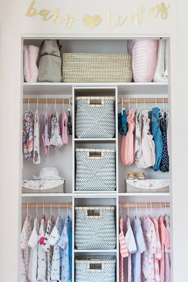 Build This Custom Nursery Closet For $100 - The Greenspring Home