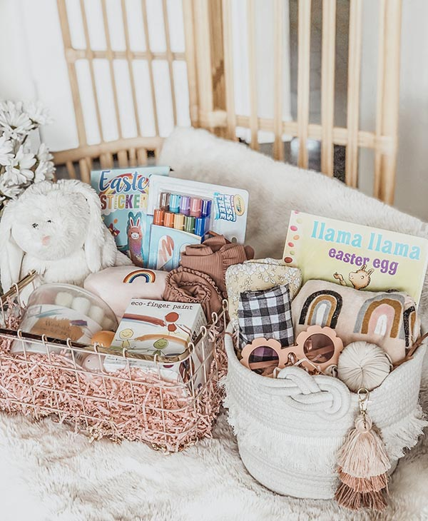 Cute easter basket ideas for toddlers
