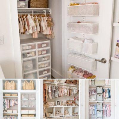 ideas for nursery closets