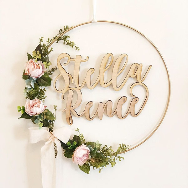 The Best Wooden Signs for a Baby Room