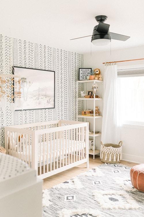 neutral themed nursery