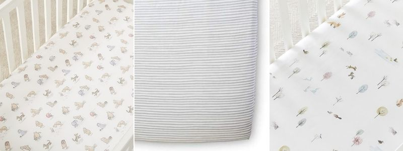 organic cotton crib sheets