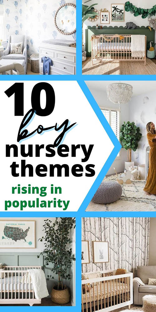 ten boy nursery themes