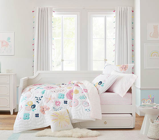 White nursery daybed