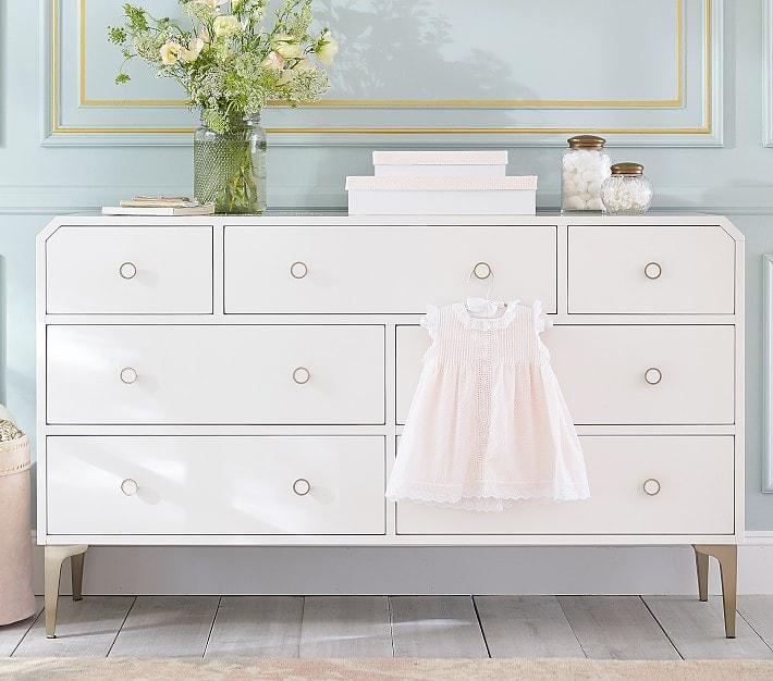 Nursery dresser changing table